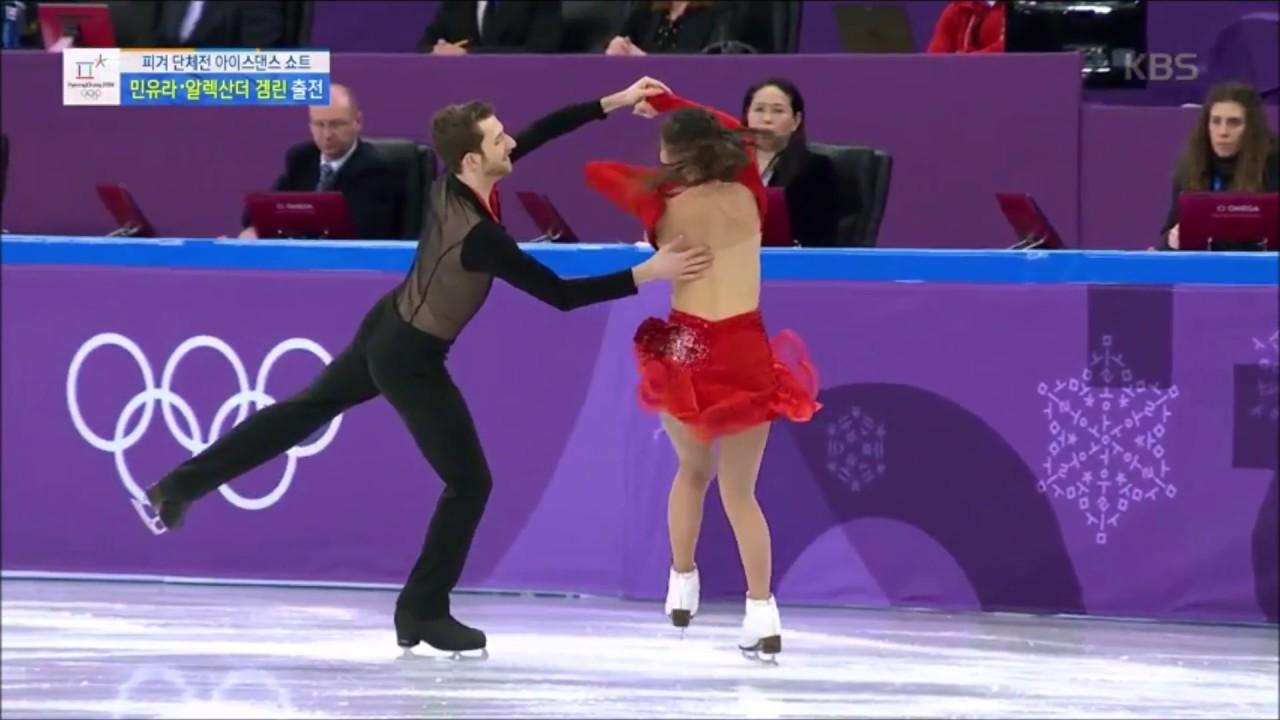 【アイスダンス】韓国ペアの衣装はだけポロリ【平昌五輪】