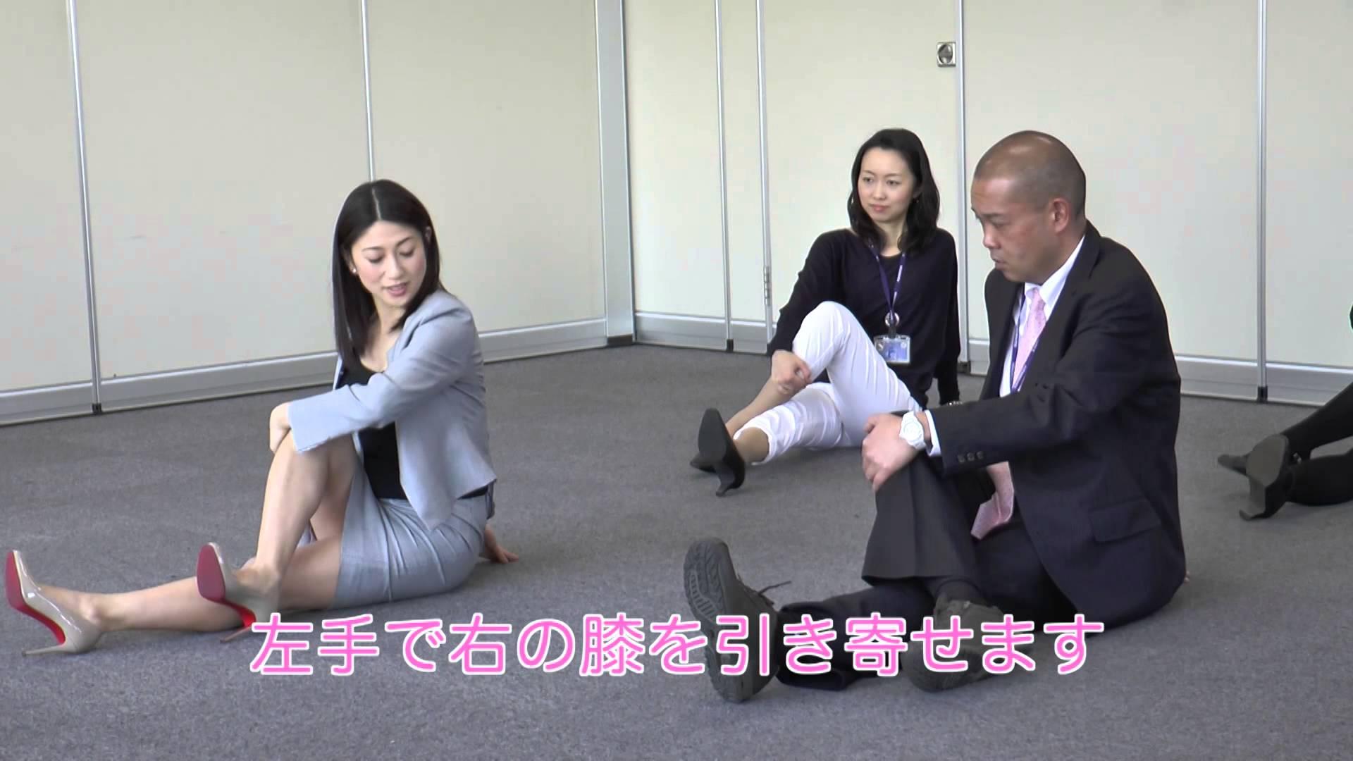 かつもとあきのスローストレッチ動画!