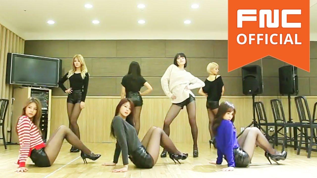 AOA ミニスカダンス!