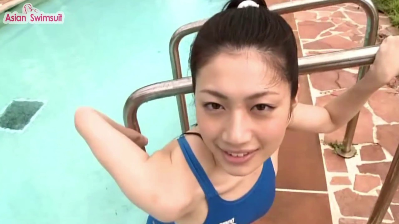 競泳水着美女の動画だけ『Asian Swimsuit』