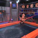 ロープの上で水着美女が、ガチンコ対決!「Esto es Guerra show」