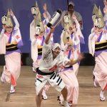 阿波鳴連の阿波踊り