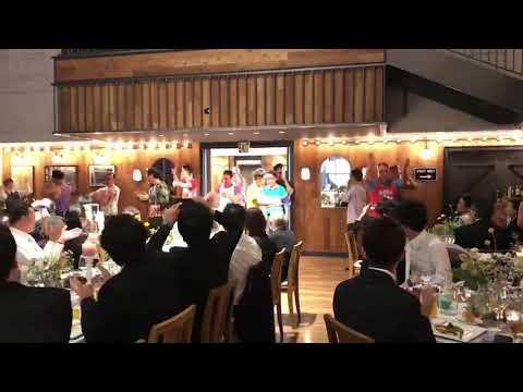 結婚式の余興でダパンプのUSAを踊ってみた!