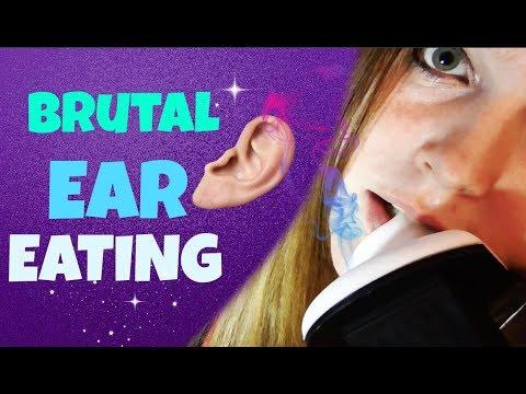 女性に耳をペロペロ舐められる音