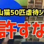 超極悪!猫を50匹殺した富山の男(50代)