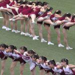 東京六大学リーグ戦 美脚がいっぱい開会式チア動画!