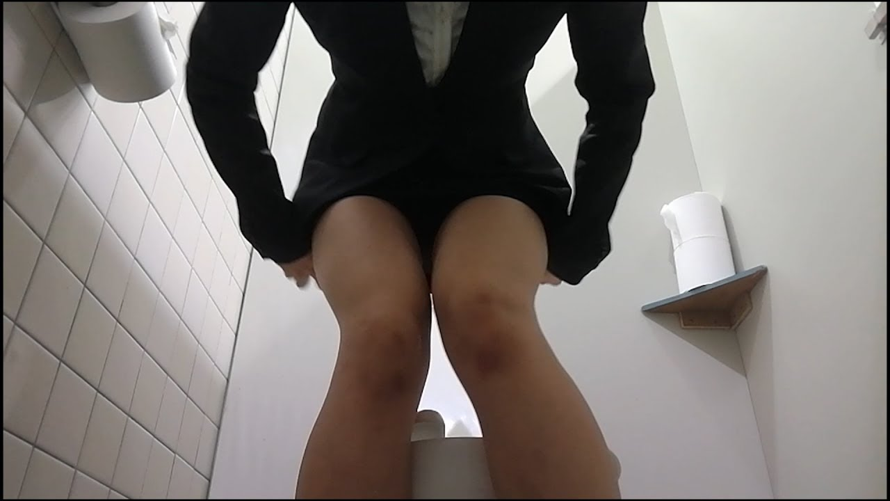 トイレ盗撮動画