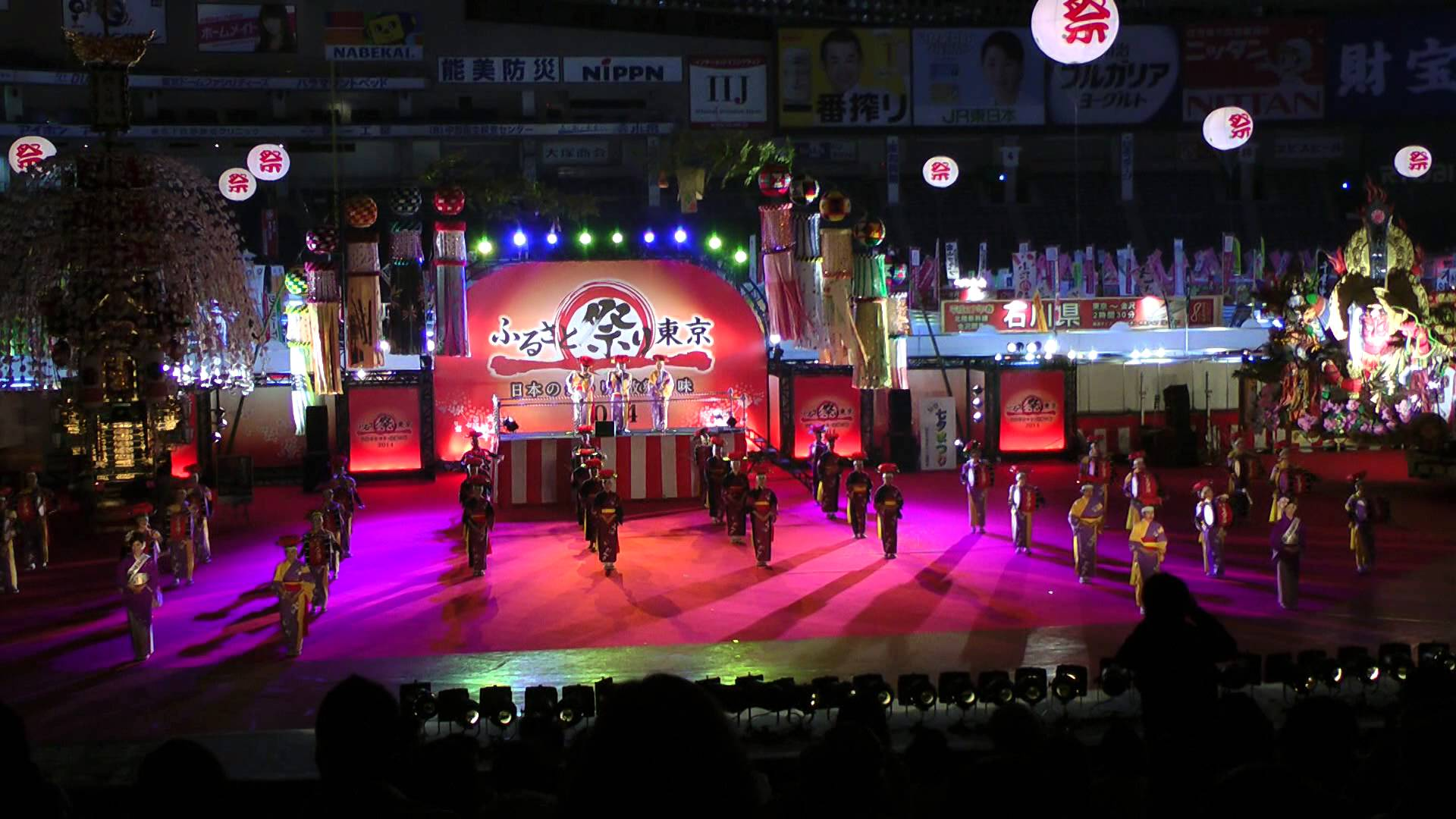 盛岡さんさ踊り(盛岡市・8月)