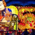 弘前ねぷた(弘前市、8月、弘前四大祭り)