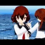 【艦娘】雷のMMD動画!