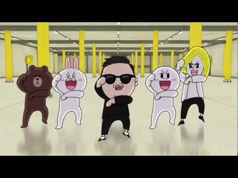 LINE×PSY「江南スタイル」