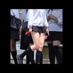 日本一スカートが短い女子高生!