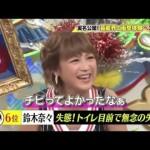 鈴木奈々おしっこ動画
