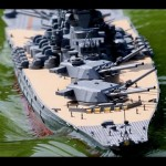46cm主砲が可動する戦艦大和のラジコンを作ってみた!