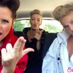 美女3人が口パクで熱唱!SketchSHE