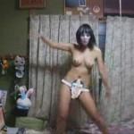変態仮面V3 ほぼ全裸で男女踊ってみた!