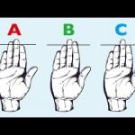 ズバリ!指の長さで性格診断