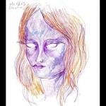 合成麻薬『LSD』を服用した女性が描いた自画像が本気でやっべえぞ!