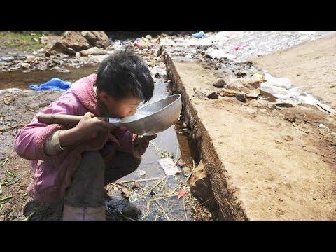 中国の恐るべき環境汚染の実態!