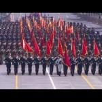 「抗日戦争勝利」70年記念軍事パレード