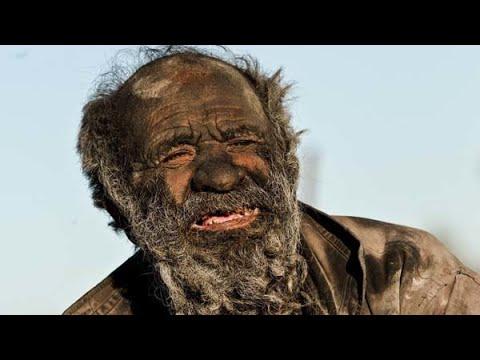 60年間風呂に入らなかった男