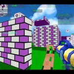 3Dのサバイバルゲーム動画 「Paintball Fun 3D Pixel」