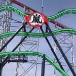 長島スパーランドの『嵐』に乗ってみた!