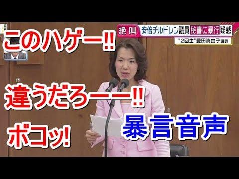 ひどすぎる・・・豊田真由子議員の暴言動画!