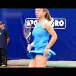 巨乳&テニス テニス中に揺れるおっぱい動画!
