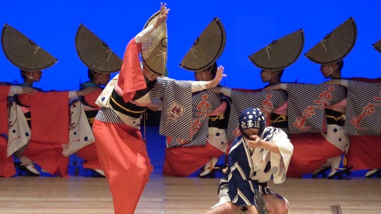 水玉連の阿波踊り