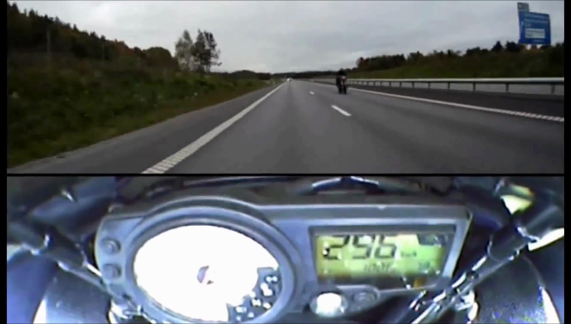 【超危険】高速道路でスピードを出しすぎている動画集!