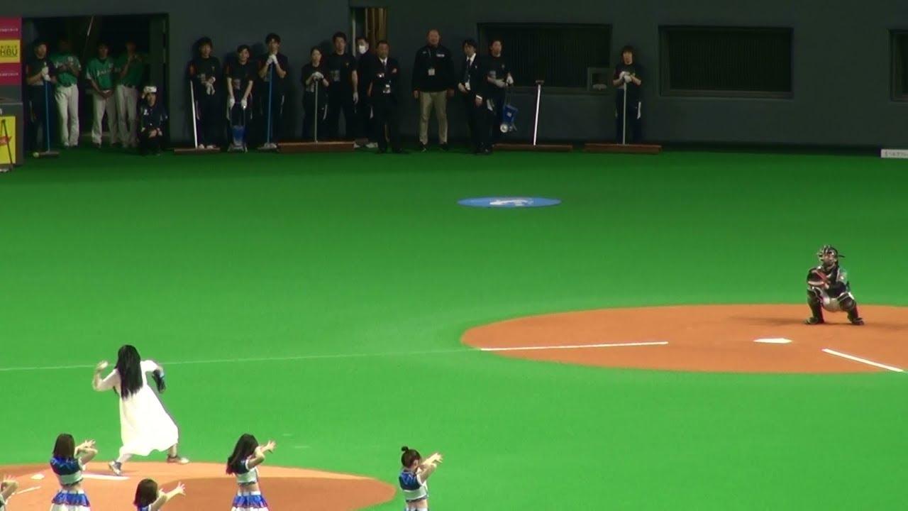 貞子の始球式!