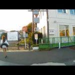 台風パンチラ動画