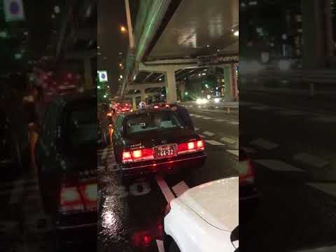 【極悪】タクシー運転手を恫喝する動画!